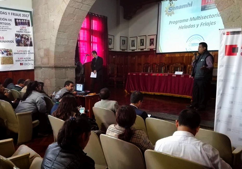 Servicio Nacional de Meteorología e hidrología del perú - SENAMHI ...